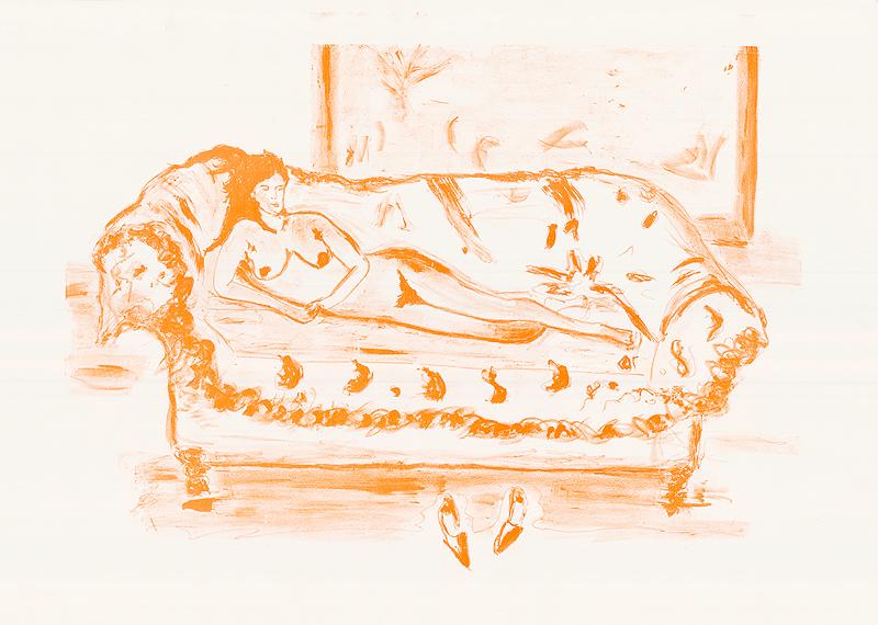 La Dame orange