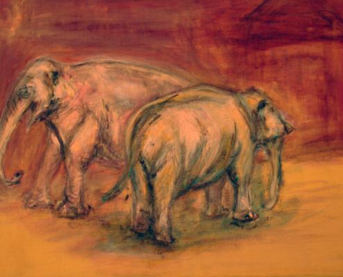 La couleur de l'Inde. Elefanten © Andreja Soleil