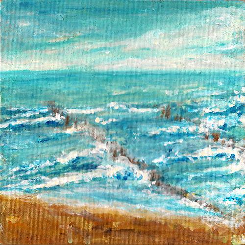 Suche. Sand-Gold-Meer © Andreja Soleil
