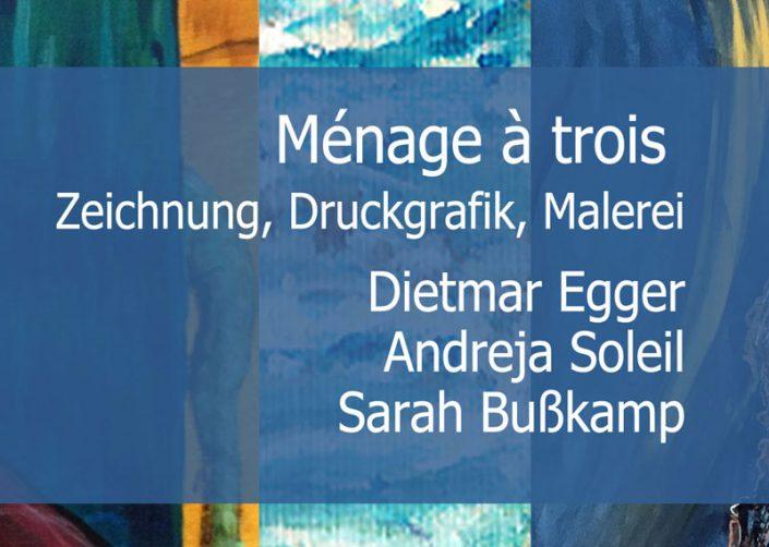 Ménage à trois: Zeichnung, Druckgrafik, Malerei